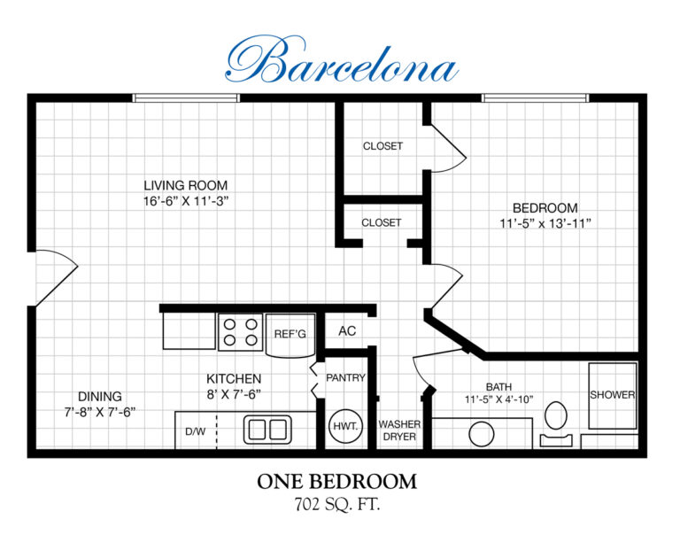independent living apartment floor plans